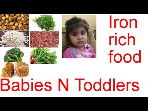 Iron Rich Foods for Babies & Kids | Foods that improves your baby HB level | Iron Foods