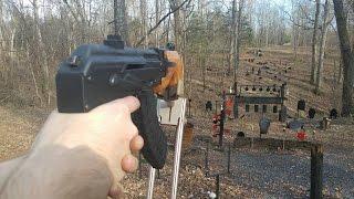 Micro Draco AK accuracy test