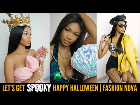 LET'S GET SPOOKY! 3 EASY HALLOWEEN COSTUMES | FASHION NOVA