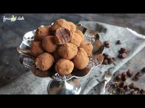 Dark Chocolate Lady Grey Truffles