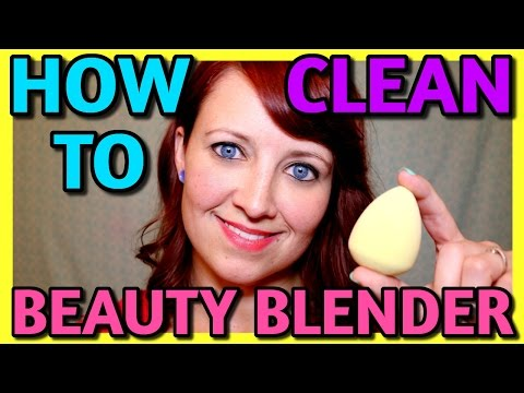 HOW TO CLEAN YOUR BEAUTY BLENDER - VERY EASY!