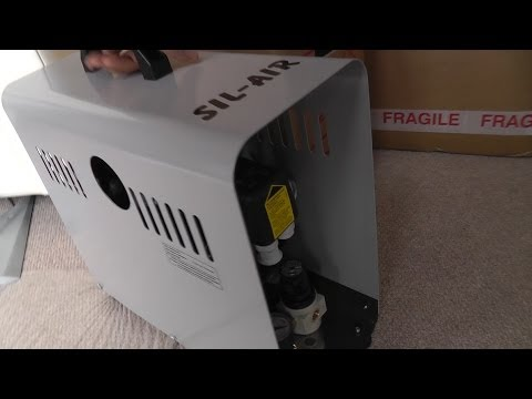 Sil-Air 15D (Silentaire) Silent Airbrush Compressor Review - Part 1 - Setup