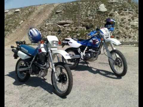 YAMAHA TT 600 e & HONDA XL 600