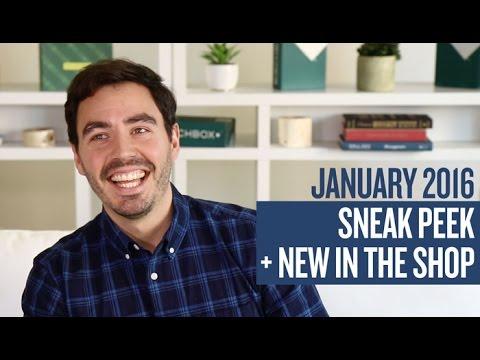 January 2016 Sneak Peek + New in the Shop