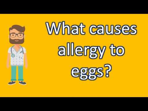 What causes allergy to eggs ? | Best Health Channel
