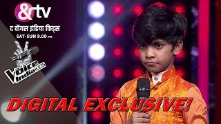Coach Himesh Tries To Pull Fazil's Leg   Moment   The Voice India Kids - Season 2