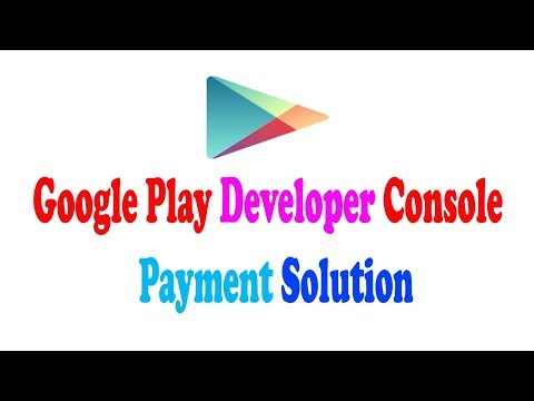 Google Play Developer Console payment solution