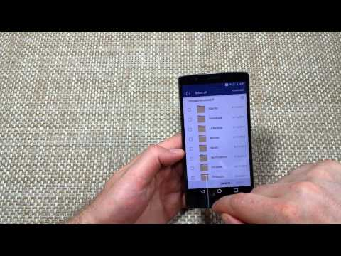 LG G4 How to Copy Move Transfer your Files Photos Videos Folders to SD Memory Card