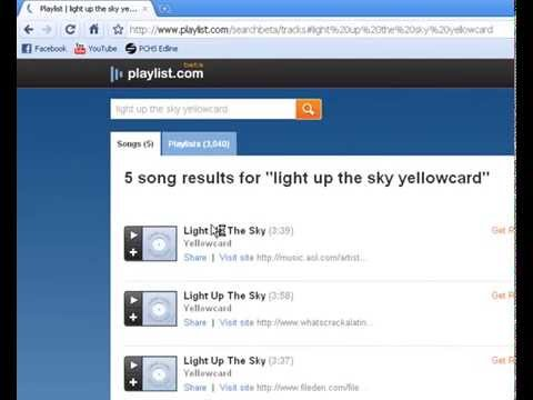 How to Download Music LEGALLY and Free off of Playlist.com-- BETA VERSION