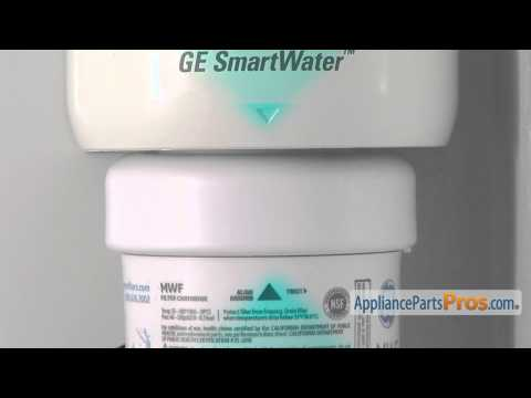 Refrigerator Water Filter (part #MWFP) - How To Replace
