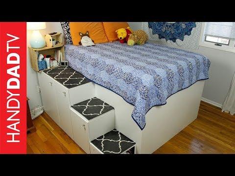 IKEA Hack Platform Bed - Freestanding Version