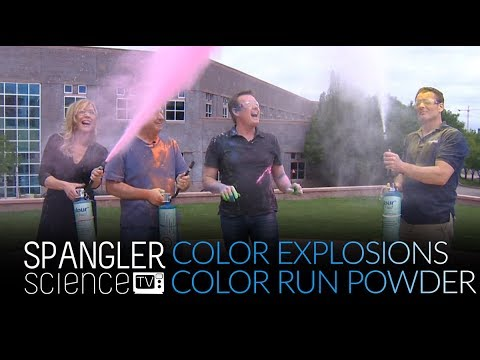 Color Explosions - How to Make Color Run Powder