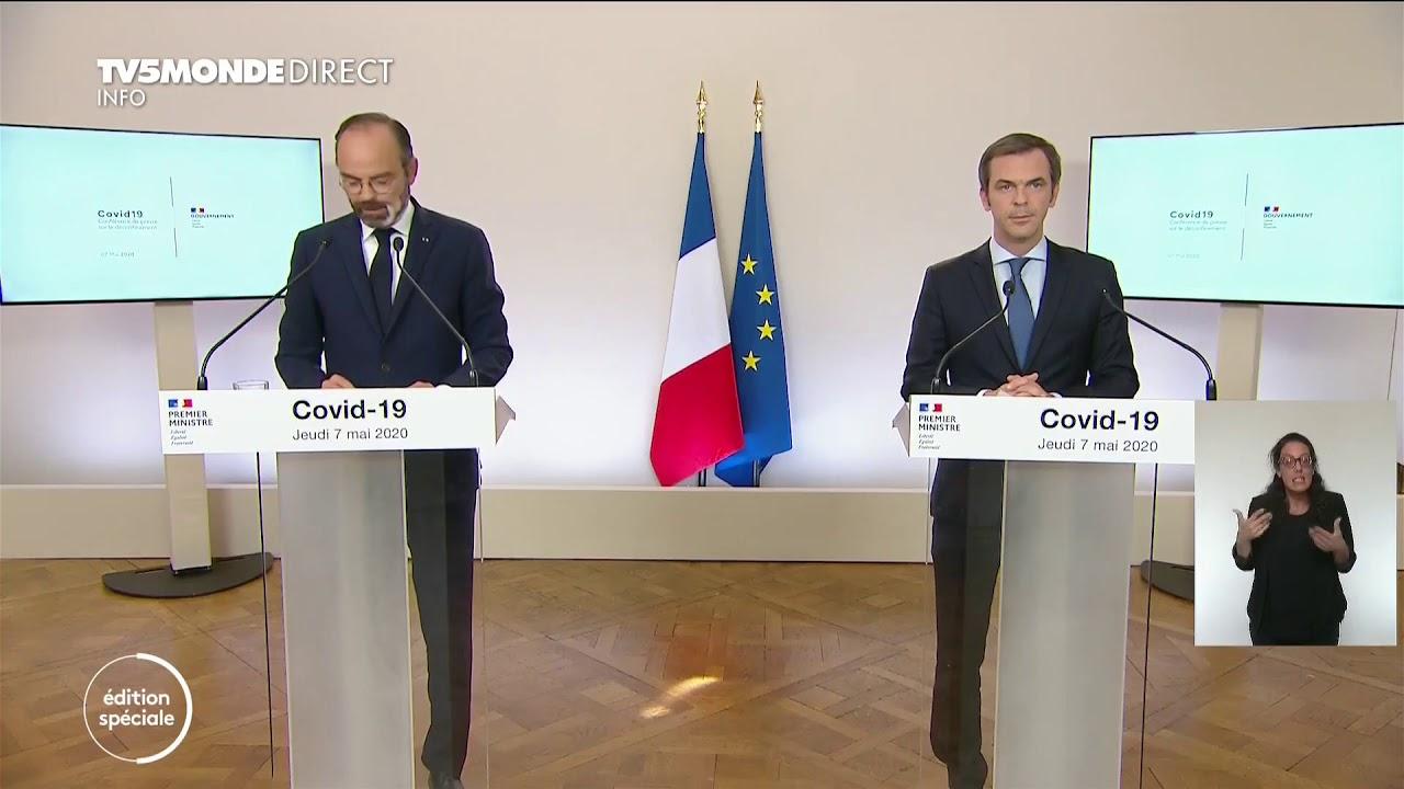 🔴 Coronavirus - Edouard Philippe précise les modalités du déconfinement à venir en France - Covid-1