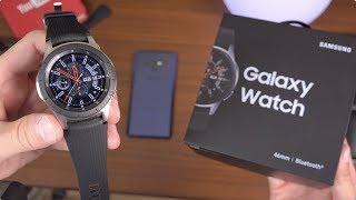 Samsung Galaxy Watch Unboxing!