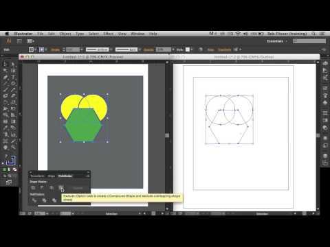 How to Use Illustrator's Pathfinder Panel with Bob Flisser