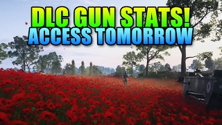 All DLC Gun Stats! Plus Early Access via CTE | Battlefield 1