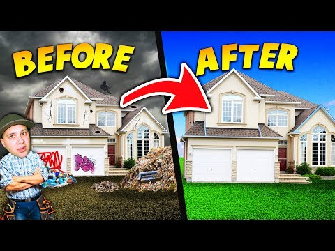 FIXING UP THE MOST DISGUSTING AND CREEPY HOUSES EVER! | House Flipper Gameplay
