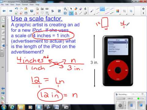 Scale Drawings and Scale Factor 7th Grade Math
