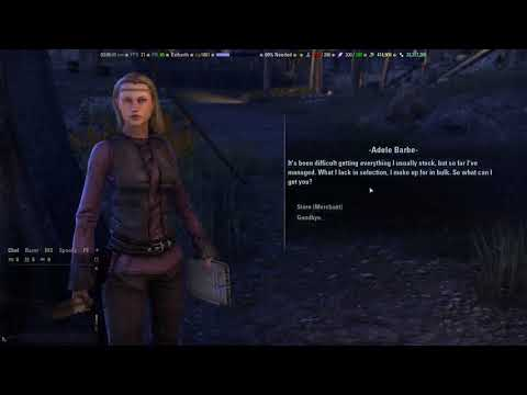 ESO: 1 million gold from selling low level mats to vendor (One year's process)