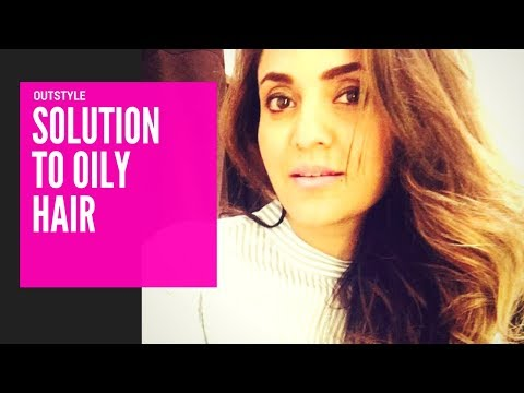 Life Hacks | Tips To Get Rid Of Oily Hair | Nadia Has A Quick Hack | Outstyle.com