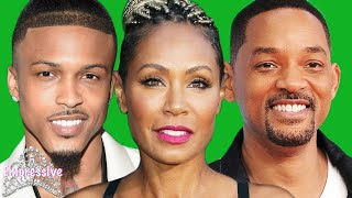 """Will Smith allowed August Alsina to """"date"""" his wife Jada Pinkett Smith?! 