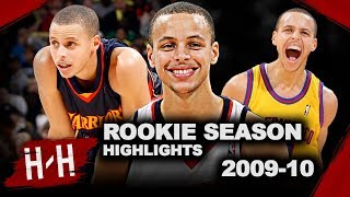 Stephen Curry SWEET Rookie Year Offense Highlights from 2009/2010 NBA Season! Future Champion! HD