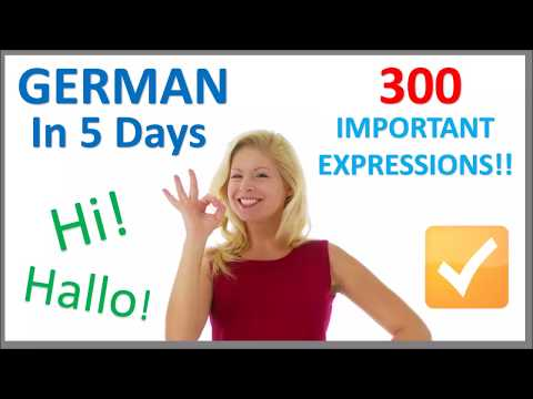 Learn German in 5 Days - Conversation for Beginners