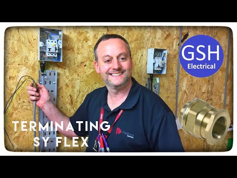 Electrical Practical Skills Terminating SY Cable (How to Terminate SY Flex)
