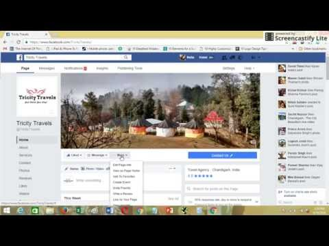 How to Change Facebook Page Name, Username and URL, September 2016