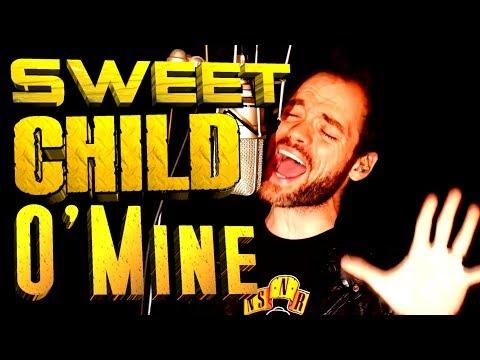 Guns N Roses - Sweet Child O Mine - cover - Gaston Juaregui - Ken Tamplin Vocal Academy