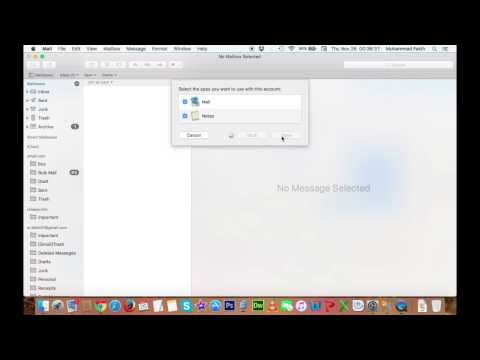 How to add Outlook Mail to your Mac