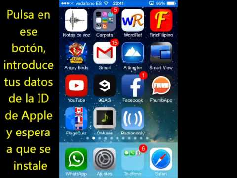 Cómo escuchar Radio Camaleón desde iPhone/iPod/iPad (iOS 7)