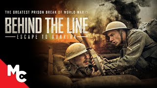 Behind The Line: Escape to Dunkirk   Full Action War Movie   World War ll