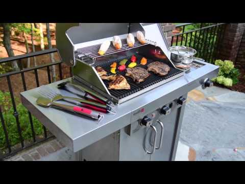 Char-Broil TRU-Infrared Professional Signature Edition 3 Burner Gas Grill
