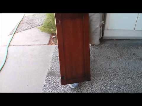 How to Finish cabinets - Maple to Cherry KWIK KABINETS - Cabinet Refinishing Arizona and beyond