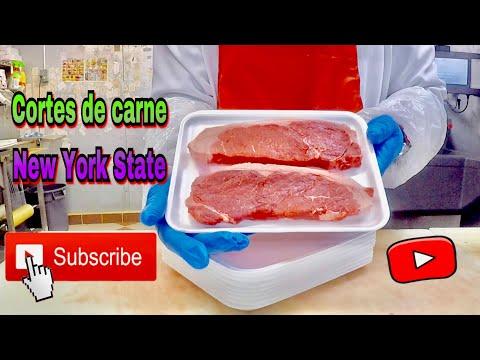 "Cortes de carne "" New York steak "" Beef shell steak boneless "" Los mejores cortes de carne de ny"