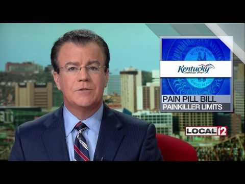 New Kentucky law limits amount of pain relievers prescribed