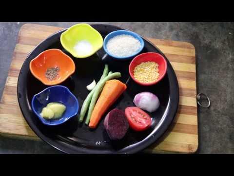 Vegetable khichdi | veg khichdi for 7month + babies| moong dal khichdi in kannada