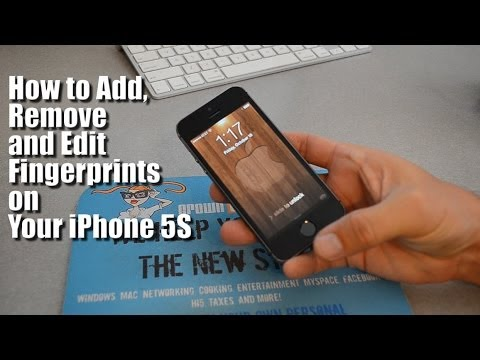 How To Add Fingerprints To Your iPhone 5S