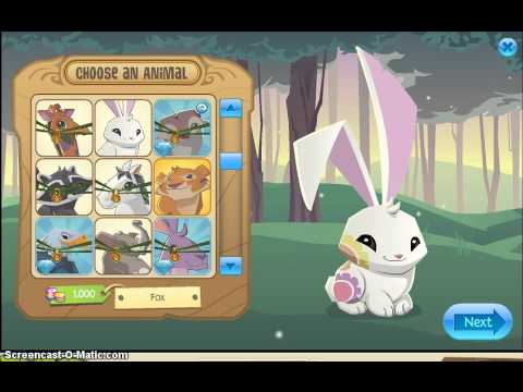 Animal Jam: Tiger Changes To A Flower Bunny Glitch