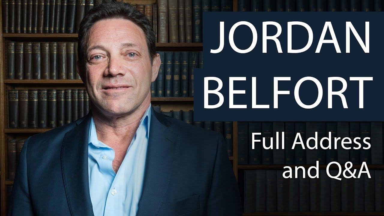 Jordan Belfort | Full Address and Q&A | Oxford Union