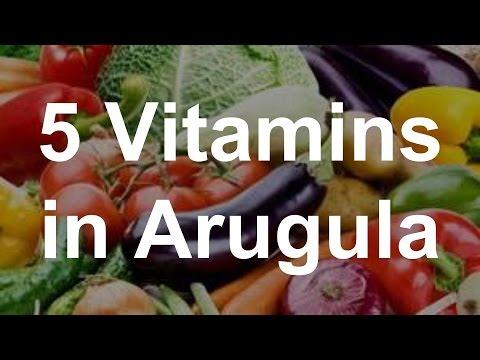 5 Vitamins in Arugula - Health Benefits of Arugula