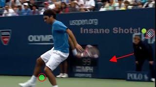 Roger Federer • Best Tricks & Skills