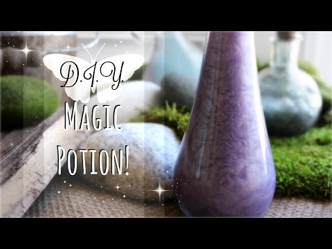 How to Make a Magic Potion // Magical DIY Crafts for Halloween // The Magic Crafter