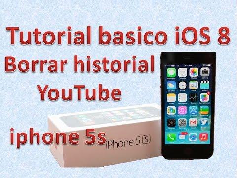 Tutorial y Guía de uso Iphone 5s parte 100 eliminar historial de reproducciones