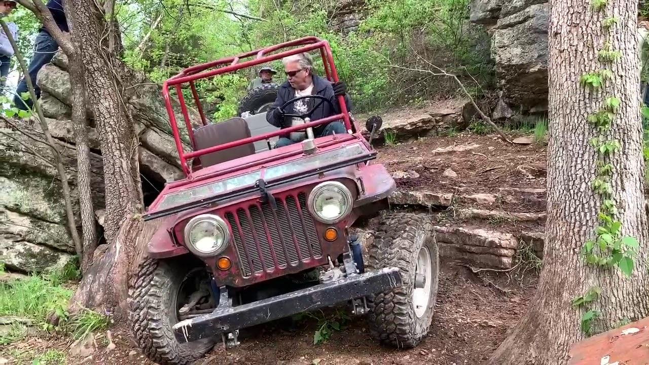 """Willys Flatfenders on """"BoulderGeist"""" - Rush Springs Ranch Off-road"""