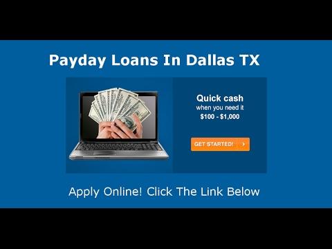 Payday Loans Dallas, TX | Online Cash Advance