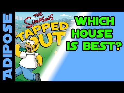 Simpsons Tapped Out-Which house is best?