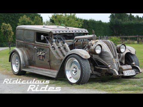 Mechanic Builds 130mph Rat Rod | RIDICULOUS RIDES