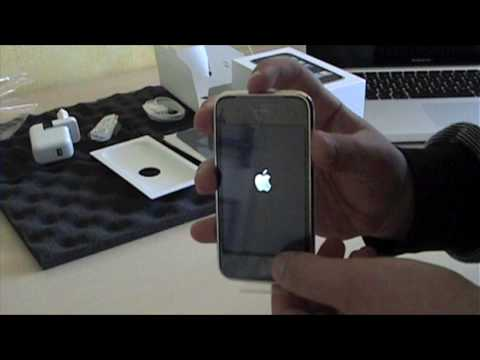 Unboxing iPhone 3G